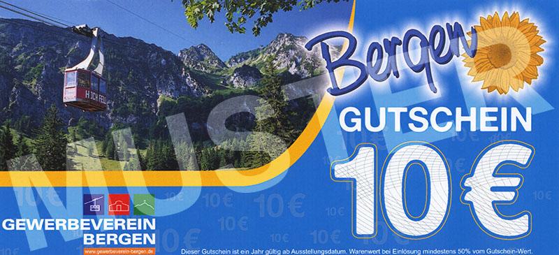 Bergen Gutschein